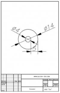 Трубка силиконовая ø14х4х5