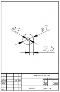 Трубка силиконовая ø7х2х2,5