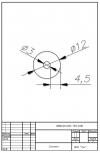 Трубка силиконовая ø12х3х4,5