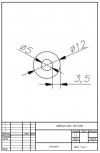 Трубка силиконовая ø12х5х3,5
