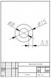 Трубка силиконовая ø15х8х3,5