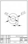 Трубка силиконовая ø16х8х4