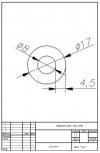 Трубка силиконовая ø17х8х4,5