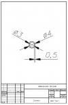 Трубка силиконовая ø4х3х0,5