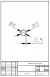 Трубка силиконовая ø5х4х0,5