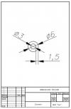 Трубка силиконовая ø6х3х1,5