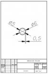Трубка силиконовая ø6х5х0,5