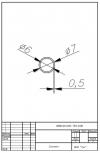 Трубка силиконовая ø7х6х0,5
