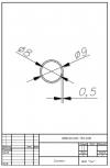 Трубка силиконовая ø9х8х0,5